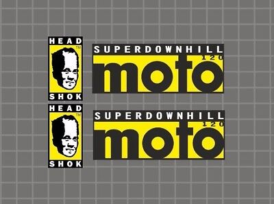 CANNONDALE Headshok Fatty SL D Forks Decals Stickers Graphic Set Adhesive Orange