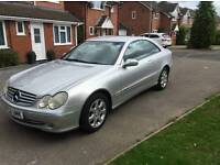 2003 mercedes clk 240 2.6 auto, full service history, reduced price for quick sale.