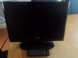 Toshiba 19 inch LCD colour tv