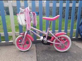 Girls first bike