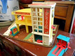 Parking Garage Fisher-Price Vintage