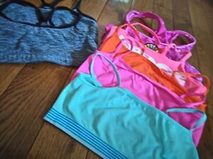 Assorted Girls size 8 Bralettes