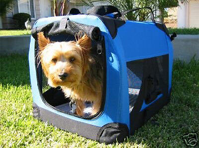 NEW Small Travel Foldable Cat Dog Pet Soft-Sided Crate/Carrier/Kennel-777