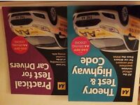 Two driving theory books