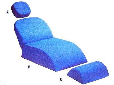 Dental Child Chair Patient Chair Cushion Complete Set Parts A - B - C - Beige
