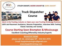 JOIN DISPATCHER COURSE ON WEEK DAYS AND WEEKENDS IN BRAMPTON