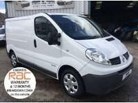 2014 63 RENAULT TRAFIC SWB 6 SPEED 115 BHP ELEC PACK BLUETOOTH FULL HISTORY