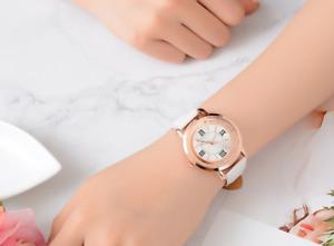 New Ladies Quartz Watch - Rhinestone Leather Women