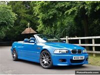 For sale, bmw m3 e46, Laguna seca blue, manual, convertible with hardtop included.