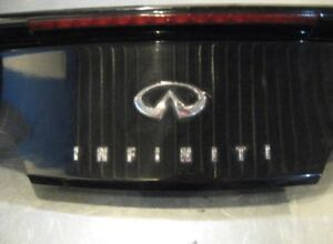 03-07 OEM INFINITI G35 COUPE TRUNK LID with SPOILER