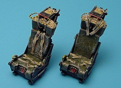 Aires 1/48 Martin Baker Mk.H7 F-4 Version Ejection Seats unpainted 4142/-