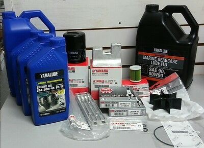 Yamaha Outboard Engine Annual Service Package-V8 5.3L, Standard (F350)