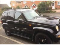 limited edition Jeep Cherokee 3.7, SPARES or REPAIRS