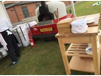 Wood fired oven available for events