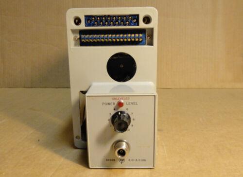 HP 8692B 2.0 - 4.0 GHz Sweep Oscillator RF Plug-In