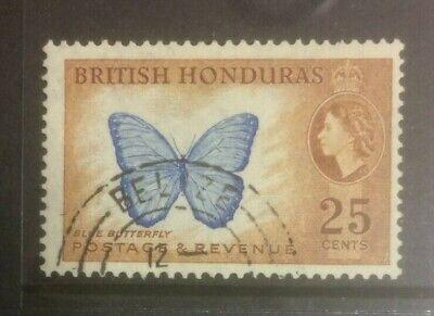 BRITISH HONDURAS 1953-1962 DEFINS SG186 USED