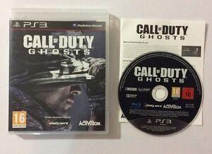 Jeu PS3 Call Of Duty Ghosts - France - État : Bon état: Objet ayant déj servi, mais qui est toujours en bon état. Le botier ou la pochette peut présenter des dommages mineurs, comme des éraflures, des rayures ou des fissures. Pour les CD, le livret et le texte arrire du botier s - France