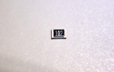 50x New Vishay 1k 0.1 18w 0805 High Stability Smd Resistors Tnpw08051001bt