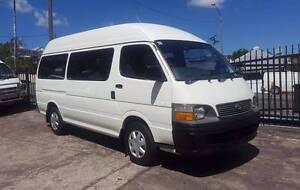2001 Toyota Hiace Commuter van/ bus AUTO 12 seats 154KM $12,999 Highgate Hill Brisbane South West Preview