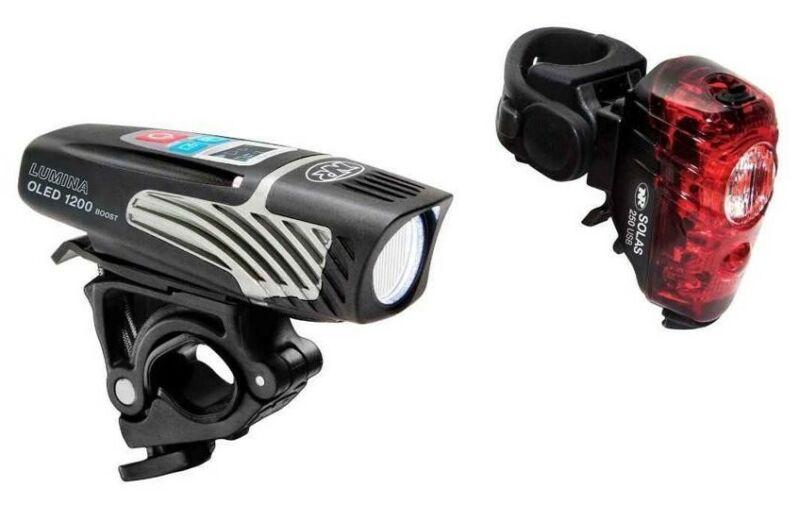 Niterider #6794 Lumina 1200 OLED Boost and Solas 250 Combo
