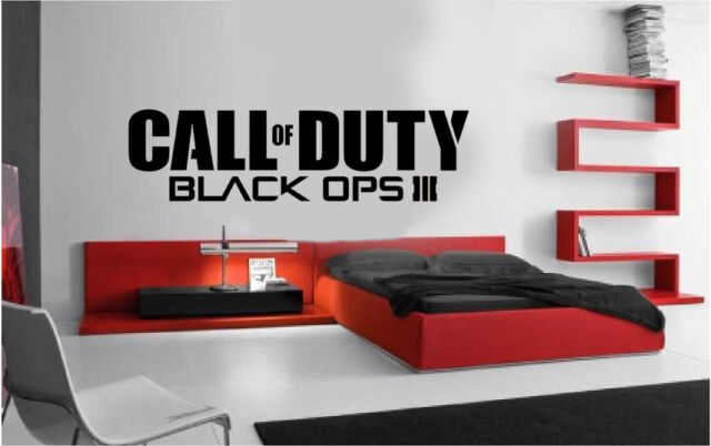 Call of Duty Black Ops Style logo PS4 Xbox Vinyl Wall Art Decal/Sticker