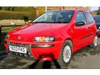 Fiat Punto 2003 1.2 Active Sport 3 door