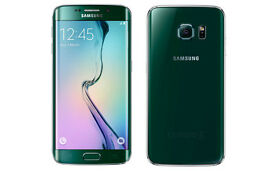 Samsung Galaxy S6 Edge Mobile Phone - GREEN