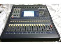 Yamaha 03D Digital mixing desk.
