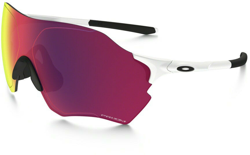 Neu Oakley Evzero Range Sonnenbrille Mattweiß / Prizm Road Objektiv, OO9327-1038