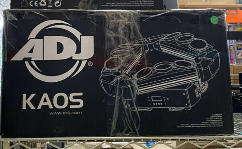 ADJ Kaos LED Lighting Centerpiece 9x10 Watt MINT condition, original box SAVE $$