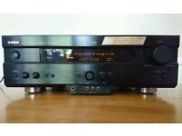 Yamaha 5.1 AV/Home Cinema AMP with 2 x Speakers, Remote and Manual £60