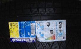 1x WINTER TYRE Michelin Pilot Alpin PA4 UHP 245/40R17 95V EL FSL - BRAND NEW STILL HAS LABELS