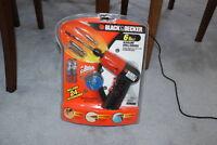 Black & Decker 6 volt alkaline drill/driver