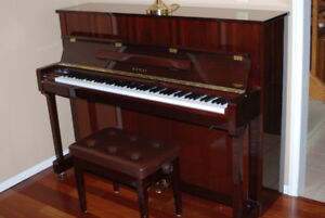 Kawai Upright Piano- Excellent Condition