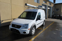 2011 Ford Transit Connect XLT with Ranger Rack