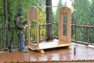 BARREL SAUNAS!! Seats 6 People, Easy to Assemble, Free Delivery North Shore Greater Vancouver Area image 3