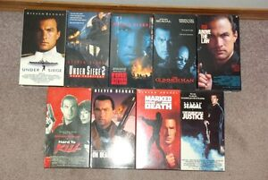 Set of 9 Steven Segal VHS Movies