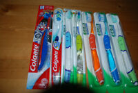 7 new toothbrushes