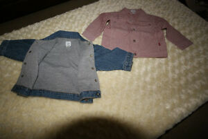 Baby Boy Gap Jean Jacket & Mexx Red Denim Jacket Size 6-12 Mths