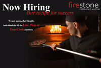 Experienced Line and prep cook positions.