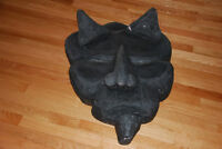Movie Prop! Large Devil's head. Weird and unusual.