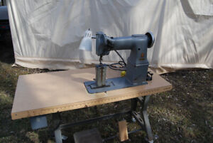 Post Double Stitch Industrial Sewing Machine For Sale