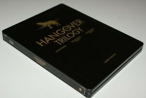 BLU-RAY! HANGOVER TRILOGY LIMITED EDITION STEELBOOK