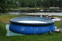 Hydro-forced pool and cover NEW PRICE