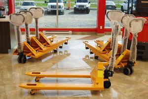 transpalettes manuelles de 26,75po.,chariot elevateur,forklift