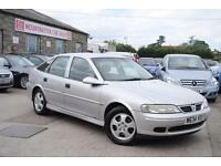 2000 Auxhall Vectra Club 1.8 Silver Petrol Manual Hatchback