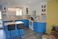 Kitchens, built in's and bars