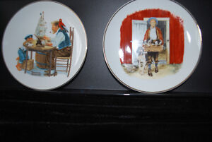 """Norman Rockwell Collector Plate 1984 ! """"For a Good Boy"""""""