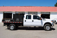2012 Ford F-350 XL Super Duty Flat Deck Pickup Truck