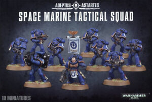 Space Marine Tactical Squads - New